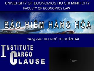 UNIVERSITY OF ECONOMICS HO CHI MINH CITY
