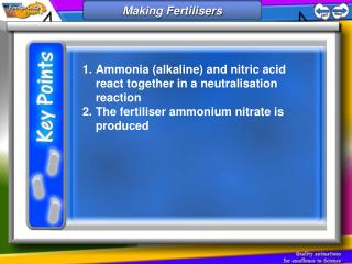 Making fertilisers