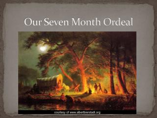 Our Seven Month Ordeal