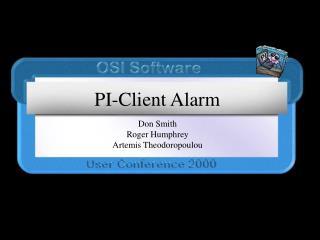 PI-Client Alarm
