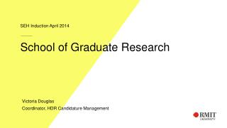 School of Graduate Research