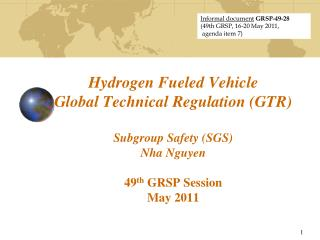 Informal document GRSP-49-28 (49th GRSP, 16-20 May 2011,  agenda item 7)