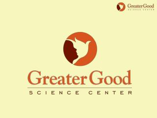 Born To Be Good: The Science of A Meaningful Life October 20, 2012