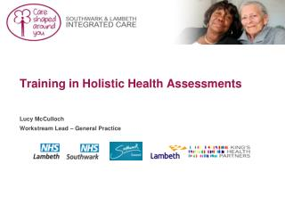Training in Holistic Health Assessments