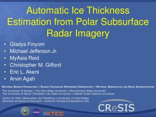 Automatic Ice Thickness Estimation from Polar Subsurface Radar Imagery