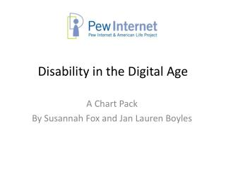 Disability in the Digital Age