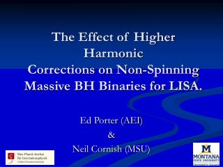 The Effect of Higher Harmonic Corrections on Non-Spinning Massive BH Binaries for LISA.