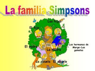 La familia Simpsons
