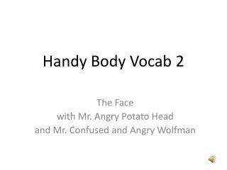 Handy Body  Vocab  2