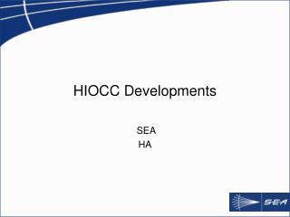 HIOCC Developments