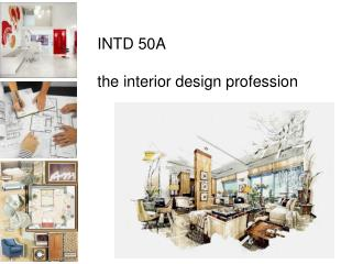 INTD 50A the interior design profession