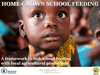 A framework to link school feeding with local agricultural production