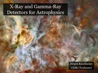 X-Ray and Gamma-Ray Detectors for Astrophysics
