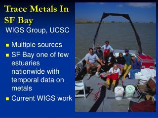 Trace Metals In SF Bay