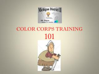 COLOR CORPS TRAINING 101