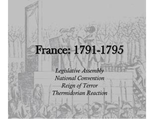 France: 1791-1795