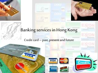 Banking services in Hong Kong