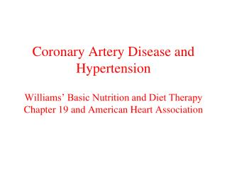 Cardiovascular Disease (CVD)