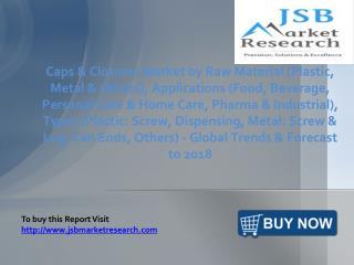 JSB Market Research: Caps And Closures Market