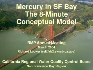 Mercury in SF Bay  The 8-Minute  Conceptual Model