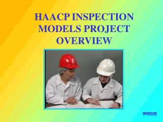 HAACP INSPECTION MODELS PROJECT OVERVIEW
