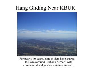 Hang Gliding Near KBUR