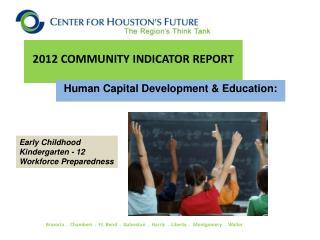 2012 COMMUNITY INDICATOR REPORT