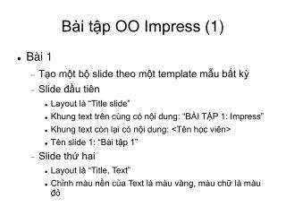 Bài tập OO Impress (1) 