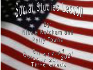 Social Studies Lesson