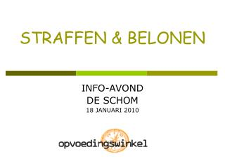 STRAFFEN & BELONEN