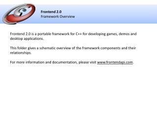 Frontend 2.0 Framework Overview