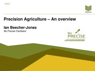 Precision Agriculture – An overview
