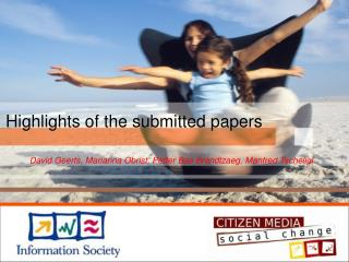 Highlights of the submitted papers