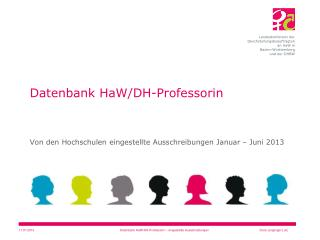 Datenbank HaW/DH-Professorin