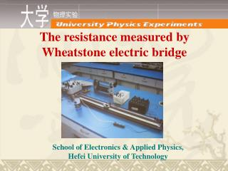 The resistance measured by Wheatstone electric bridge