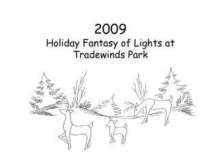 2009 Holiday Fantasy of Lights at Tradewinds Park