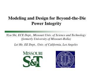 Modeling and Design for Beyond-the-Die Power Integrity