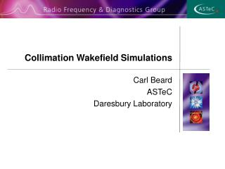 Collimation Wakefield Simulations
