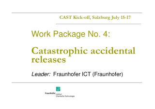 CAST Kick-off, Salzburg July 15-17