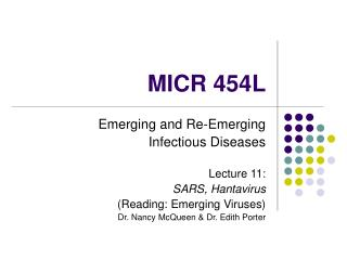 MICR 454L