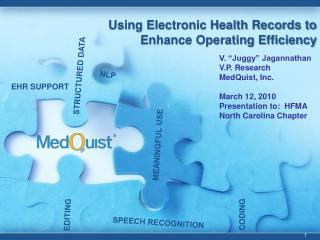 Using Electronic Health Records to Enhance Operating Efficiency
