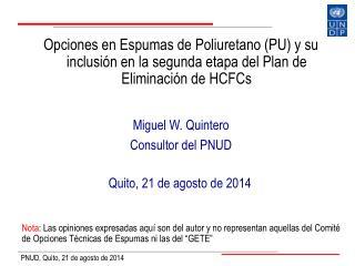 Quito, 21 de agosto de 2014