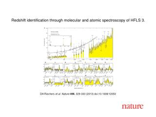 DA Riechers  et al. Nature  496 , 329-333 (2013) doi:10.1038/12050