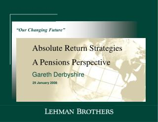 A Pensions Perspective