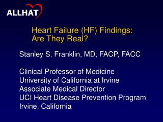 Heart Failure (HF) Findings: Are They Real?