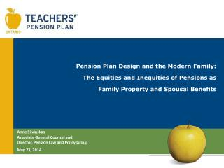 Pension Plan Design and the Modern Family:  The Equities and Inequities of Pensions as