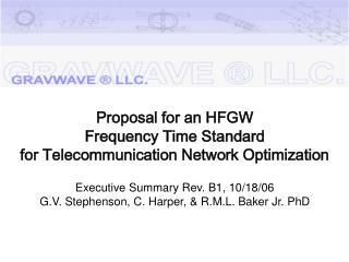 HFGW FTS Proposal  Executive Summary