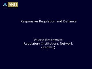 Responsive Regulation and Defiance