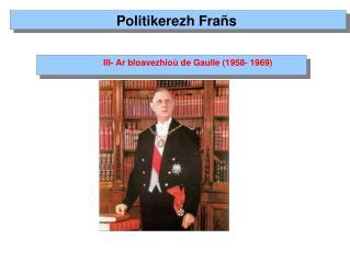 Politikerezh Frañs