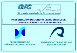 DEPARTAMENTO DE  SEÑALES Y COMUNICACIONES